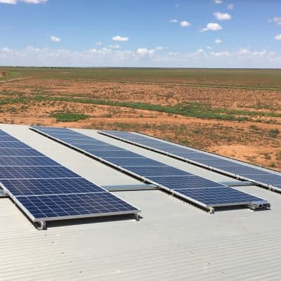 Off-Grid Solar - Mudgeacca Station – Boulia, QLD